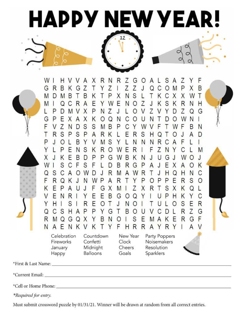 Crossword Puzzle_NewYear2020